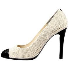 Chanel pearl court shoe