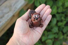 Beaver Polymer Clay Sculpture by mirandascritters on Etsy,