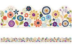 You-Nique Flower Scalloped Border