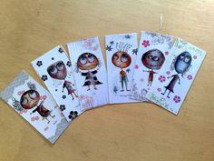 Prints Bookmarks  The zeropumpkin characters by zeropumpkin, $14.90
