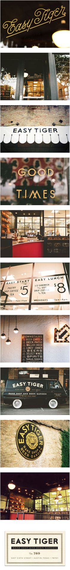 LAND: Easy Tiger Identity and Collateral | Design Work Life
