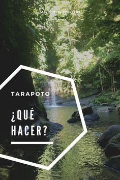 Descubre las mejores actividades que puedes hacer en Tarapoto (Peru). #tarapoto #viajeperu #selva #selvaperuana #quehacer #peru #america #travel #viajar #pinterest #atandocaminos Exotic Places, Travel Alone