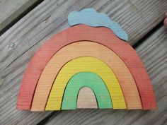 Wooden+Rainbow+Stacking+Puzzle+by+SimpleGiftsToy