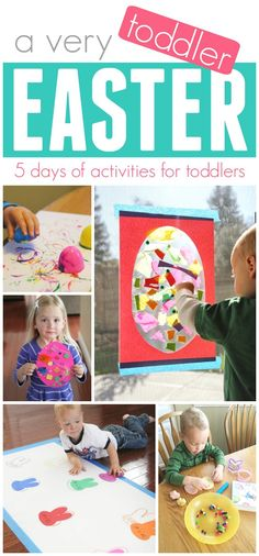 5 Days of Easy Toddler Easter activities