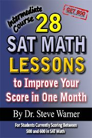 [EBook] 28 New SAT Math Lessons to Improve Your Score in One Month - Advanced Course: For Students Currently Scoring Above 600 in SAT Math and Want to Score 800 Author Steve Warner, Best Sat Prep, New Sat, Sat Math, Prep Book, Maths Solutions, Math Books, Free Pdf Books, Home Schooling, What To Read
