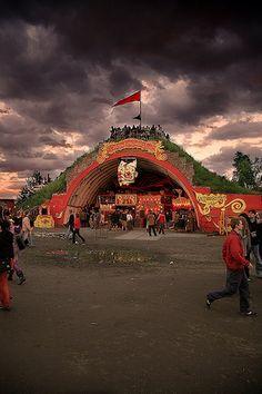 Fusion Festival...mh datscha hangar?!