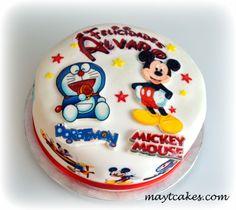 Tarta Mickey - Doraemon