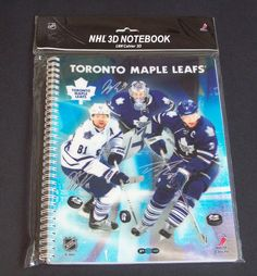 Toronto Maple Leafs NHL 3D Notebook Phil Kessel Reimer Phaneuf FREE SHIPPING #TorontoMapleLeafs