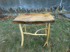 Handmade unique rustic log furniture by lloydgreen on Etsy, $200.00