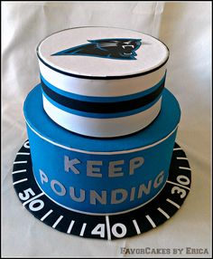 Keep Pounding Kawann Short #99 ordered from FavorCakes by Erica....