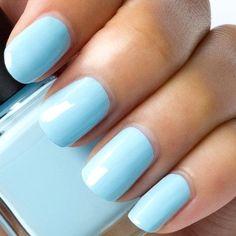 The Best Summer Nail Polish Colors Love Nails, How To Do Nails, My Nails, Summer Nail Polish, Nail Polish Colors, Nail Polishes, Manicure Colors, Nail Nail, Ongles Baby Blue