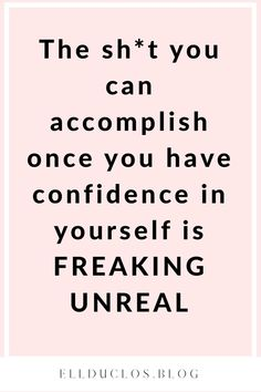 25 Journal Prompts for Self-Love and Confidence Building Confidence quotes for women. How to boost your confidence with these Self Confidence Quotes, Confidence Boost, Confidence Building, Positive Affirmations, Positive Quotes, Motivational Words, Inspirational Quotes, Good Personality Traits, Happy Quotes