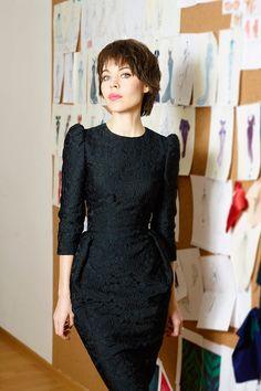 Ulyana Sergeenko ...Fue su primer diseño y sigue siendo su favorito