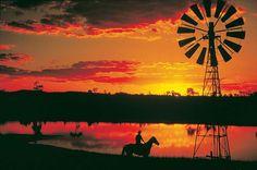 Longreach, outback Queensland.