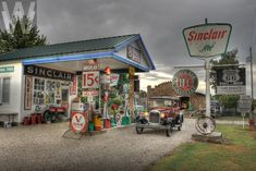 ROUTE 66-MISSOURI- A 1926 Ford Model T coupe is parked in front of.