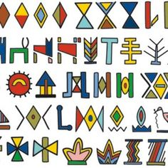 Typography + Language + Writing Systems = Afrikan Alphabets | Another Africa