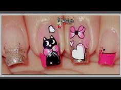 Color Rosa, Swag Nails, Pedicure, Nail Art, Beauty, Youtube, Bling Nails, Work Nails, Ideas