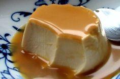 Panna cotta fondante au caramel au beurre salé