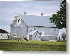 Metal Horse Barn Metal Print By Bonfire #Photography