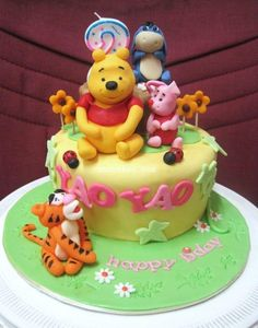 Winnie the Poohis one of the most beloved characters among children and a great idea for a theme birthday party. The famous teddy bear was created in 1926
