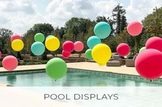 Incredible wedding installations at some of the world's most gorgeous wedding venues. Explore how balloons can help transform your big day. Bubblegum Balloons, Tropical Party, Wedding Gallery, Bubble Gum, Big Day, Wedding Venues, Wedding Decorations, The Incredibles, Pools