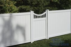 vinyl fence gate - Google Search