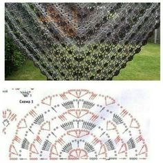 Chal crochet pattern