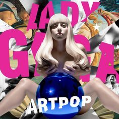 """Jeff Koons Made a Nude Sculpture of Lady Gaga for Her """"ARTPOP"""" Album Cover"""