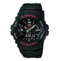online shopping for Casio Mens G-Shock Ana-Digi Watch, Molded Resin Case Band from top store. See new offer for Casio Mens G-Shock Ana-Digi Watch, Molded Resin Case Band G Shock Watches, Sport Watches, Cool Watches, Watches For Men, Casual Watches, Popular Watches, Casio Protrek, Casio G-shock, Casio Watch