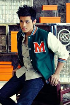 Xian Lim~college boy duds