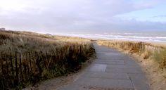 de Baak Seaside ligt bijna direct aan het strand