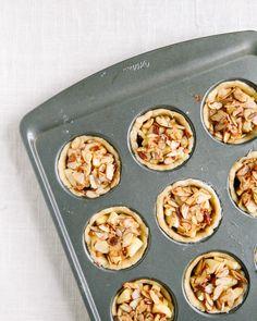 Mini Bourbon Apple Pies