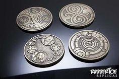 Gallifreyan Coasters.