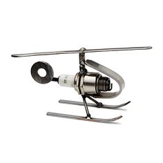 Look what I found at UncommonGoods: spark plug helicopter paperweight... for $35 #uncommongoods