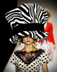d22d5b16be3 Hat by Stephen Jones Millinery for Kinder Aggugini Spring-Summer 2010