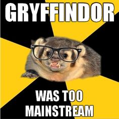 I abandoned a Gryffindor Pottermore account to get a Hufflepuff one. 'Nuf said.