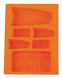 Diamond Select Back to the Future Silicone Ice Tray