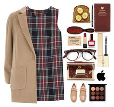 """""""Untitled #419"""" by pausteja ❤ liked on Polyvore featuring Bobbi Brown Cosmetics, Kate Spade, Mason Pearson, Lancôme, Clarins, Cutler and Gross, Rauwolf, Marni, MANGO and Dorothy Perkins"""