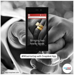 A girl waits to get a proposal from a boy! Bridge that wait #MitaoHarGap with Snapdeal App. Check out latest film https://www.youtube.com/watch?v=jnEw33vGA4Q&feature=youtu.be