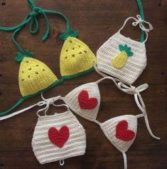 16 Trendy crochet summer clothes for kids Crochet Shirt, Crochet Beanie, Knit Crochet, Crochet Hats, Crochet Baby Bikini, Bikinis Crochet, Crochet Mandala Pattern, Crochet Patterns, Crochet For Kids