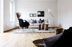 living room - love the stubs