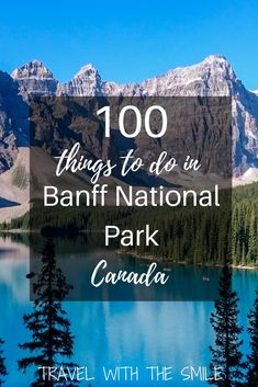 Are you planning a trip to Banff and don't know where to start and what to do? This article gives you an idea for   Things to do in Banff   Things to do in Lake Louise   What to do in Canadian Rockies   Best things to do in Banff   Things to do in Jasper   Banff National Park Canada   #banff #canada #canadianrockies