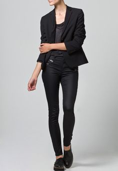 ONLY - ONLOLIVIA - Jeans Slim Fit - black