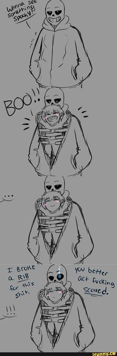 -Undertale -Frisk -Sans I love these two ^^
