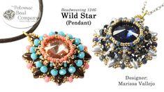 Wild Star Pendant (Jewelry-Making Tutorial)
