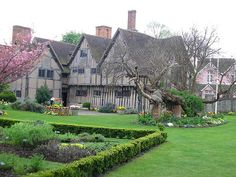 The home of William Shakespeare. Stratford-upon-Avon.