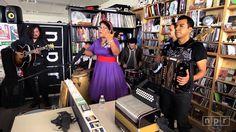 La Santa Cecilia: NPR Music Tiny Desk Concert