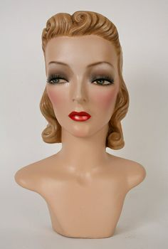 1000 images about maniqui heads on pinterest mannequin heads vintage mannequin and hat. Black Bedroom Furniture Sets. Home Design Ideas