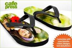 Just in time for summer--customized flip-flops!