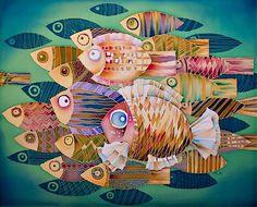 Виртуальная галерея Ларисы Лукаш_Рыбы